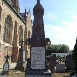 Gedenksteen hulp-majoor Clouzet