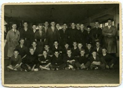 Klasfoto V.T.I. afdeling mechanica schooljaar 1960-1961