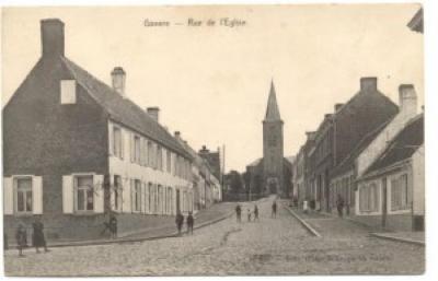 Achterkant Rue de l'Eglise Kerkstraat