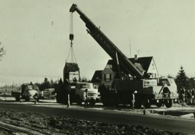 Verplaatsing van de kapel in de Eekse 's Gravendreef