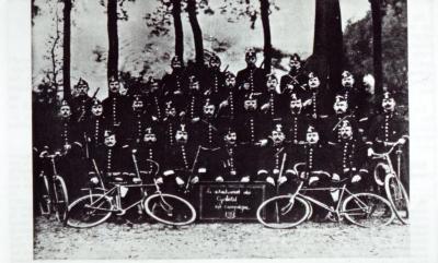 Het peloton van rijkswachtkapitein Camille Fremault