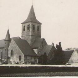De Latemse Sint-Martinuskerk anno 1932