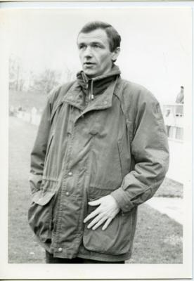 Trainer De Groote van S.K. Deinze