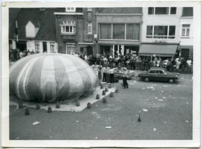 Luchtballon op de markt Deinze