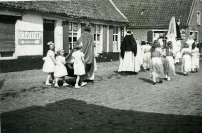 'Heiligen' in de Nazarethse processie