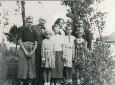 Het gezin Flachet komt op bezoek