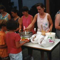 Kookploeg op kamp van KSA-VKSJ Nazareth