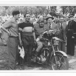Poseren op de Nazarethse motocross