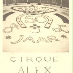 Circus Alex Libot viert feest in Gavere