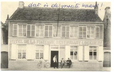Hôtel de la Fontaine, Grand' Place Gavere