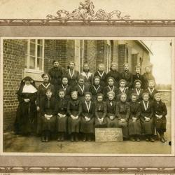 De leerlingen van de Pintse zondagsschool
