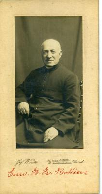Portretfoto van Franciscus Rottiers