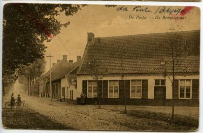 De hoek van de Pintse Bredestraat