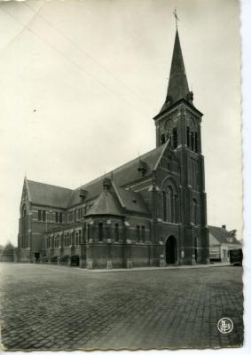 De parochiekerk van De Pinte