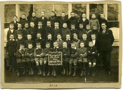 Groepsfoto gemeenteschool De Pinte