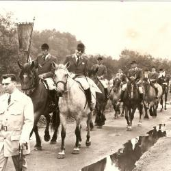 De ruiters van St.-Martinus Asper in 1975