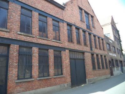 De fabrieksgebouwen van Van Der Cruyssen aan de Kaaistraat