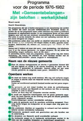 Verkiezingsprogramma Felix Smeets