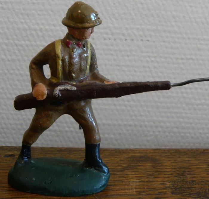 De 'Belgische soldaatjes' van Beeusaert