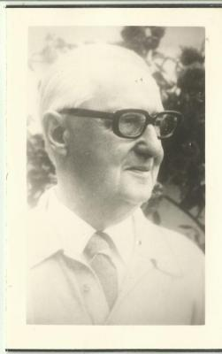 Bidprentje dichter Marnix Van Gavere