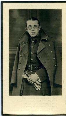 Doodsprentje van Deins soldaat Albert Hoste