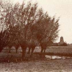 De Machelse Leievallei met Hostens molen