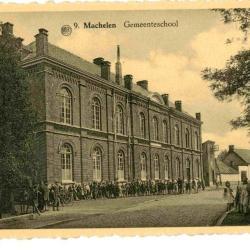 De gemeentelijke jongensschool van Machelen-aan-de-Leie
