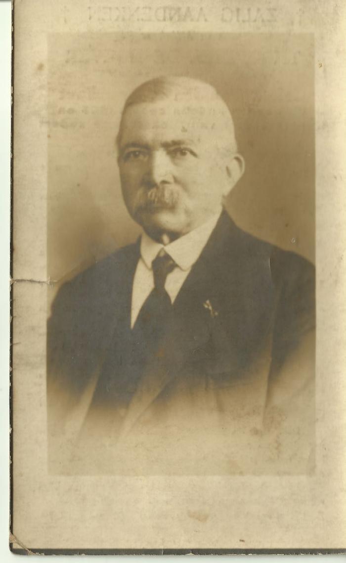 Bidprentje Dikkelvens burgemeester De Boever