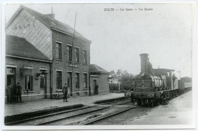 Het station van Zulte