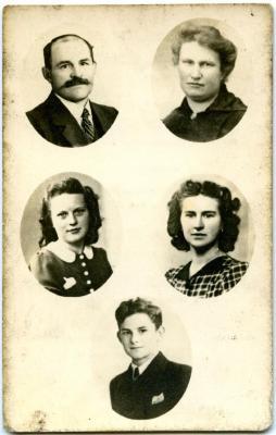 Bidprentje van de familie Stanssens