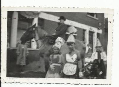 Georges Van Wingen te paard