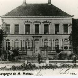 Het landhuis van de familie Meheus