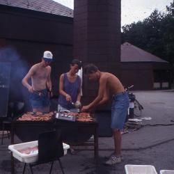 Op kamp in Heyd in 1991 - voor spijs en drank (1)