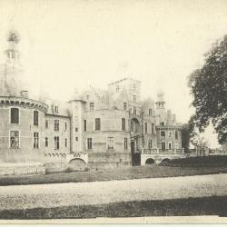 Het kasteel van Ooidonk aan het begin van de 20ste eeuw