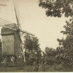 Dichtbij de molen van Deurle