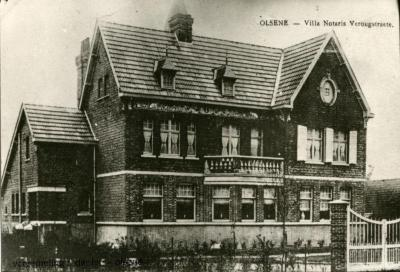 De villa van notaris Edgard Verougstraete
