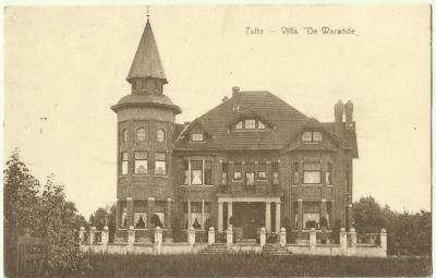 Villa De Warande te Zulte