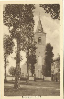 De dorpsplaats van Zevergem