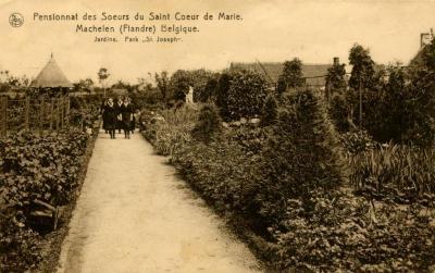 De tuinen van het Machels klooster