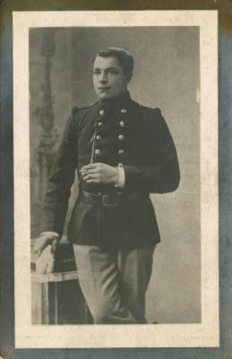Bidprentje van Machels soldaat Cyriel De Waele