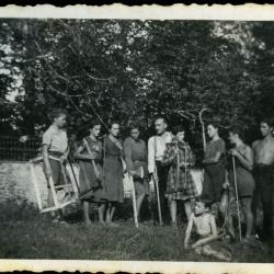 De familie Gevaert op de vlucht voor WOII