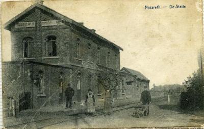 Het station van Eke-Nazareth