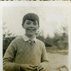Omer Gevaert, zoon van Edgar en Marie Minne