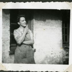 Alma Gevaert, dochter van Marie Minne en Edgar