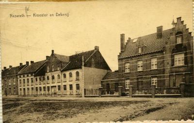 De dekenij en het oude klooster van Nazareth