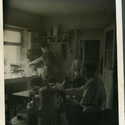 De keuken ten huize Gevaert-Minne