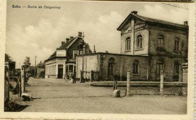 De stationsbuurt van Nazareth- Eke