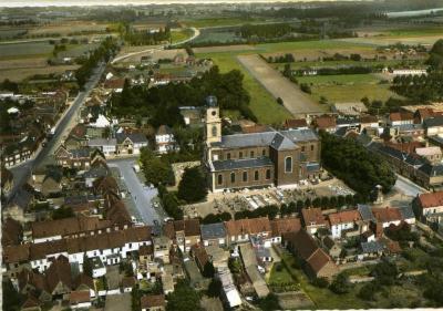 De kerk in het midden