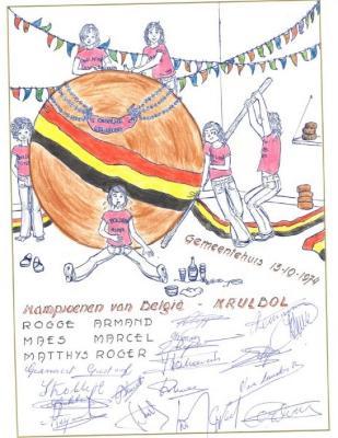 Kampioenen van België- krulbol