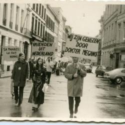 Betoging voor het eerherstel van Dr. Meganck